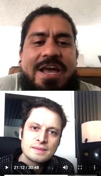 Grita Radio Entrevista con Juan Carlos Fiori y Poncho Daniels No Te Rindas