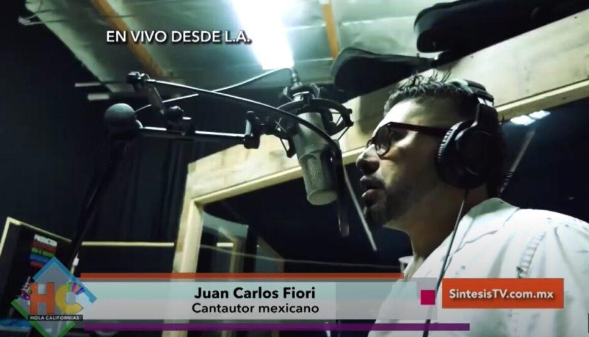 Juan Carlos Fiori En Vivo Entrevista en Hola Californias